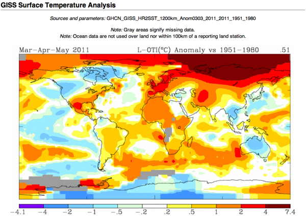 Data GISS GISS Surface Temperature Analysis