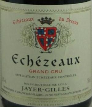 2004 Domaine Robert Jayer Gilles Echezeaux du Dessus France Burgundy Côte de Nuits Echezeaux Grand Cru  CellarTracker