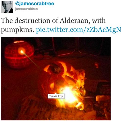 Twitter   jamescrabtree The destruction of Alderaa
