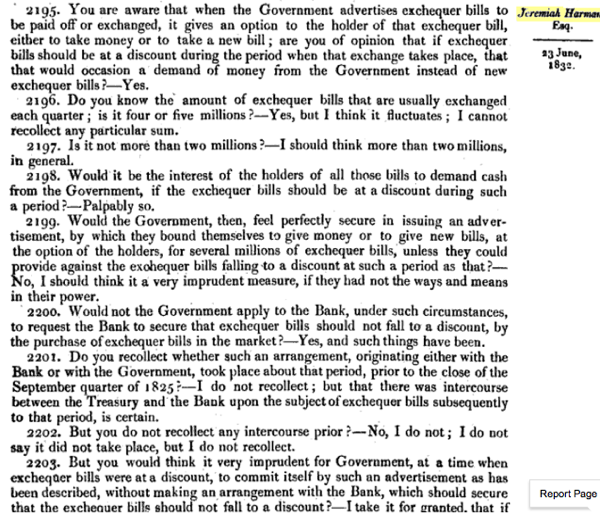 Report of the Committee of Secrecy on the Bank of England charter with the minutes of evidence apx and index   Google Books 11