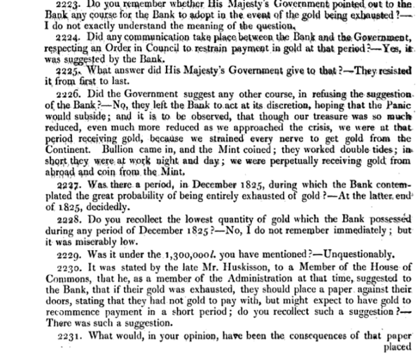 Report of the Committee of Secrecy on the Bank of England charter with the minutes of evidence apx and index   Google Books 14