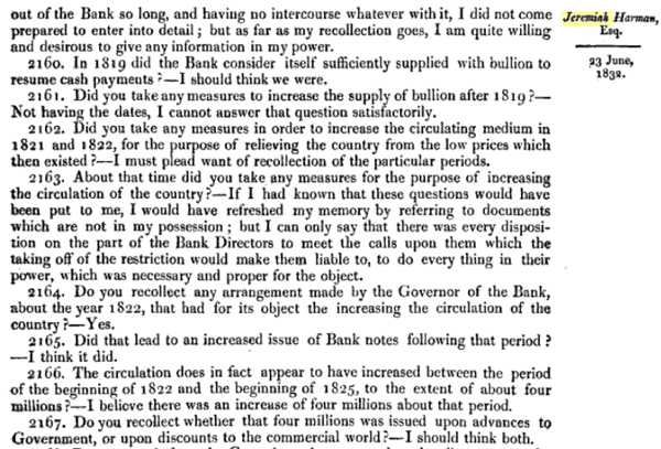 Report of the Committee of Secrecy on the Bank of England charter with the minutes of evidence apx and index   Google Books 6