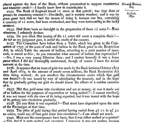 Report of the Committee of Secrecy on the Bank of England charter with the minutes of evidence apx and index   Google Books 15