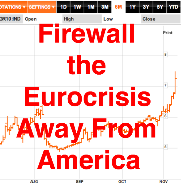 Firewall the Eurocrisis