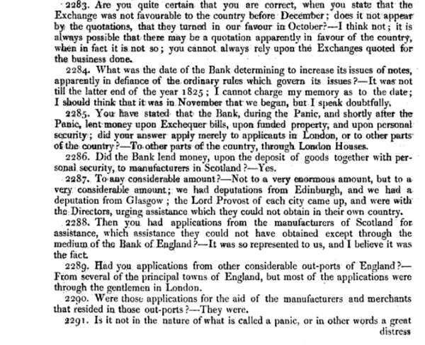 Report of the Committee of Secrecy on the Bank of England charter with the minutes of evidence apx and index   Google Books 22