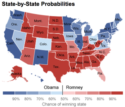 Election Forecast Obama Begins With Tenuous Advantage  NYTimes com