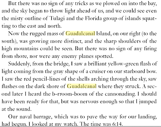 Guadalcanal Diary  Richard Tregaskis  Google Books 3