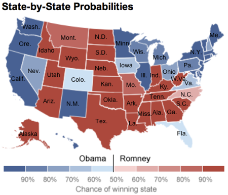 Election Forecasts  FiveThirtyEight Blog  NYTimes com