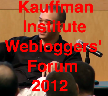 Brad DeLong Kauffman Institute Economic Webloggers Forum 2012 Recovery and Long Term Growth