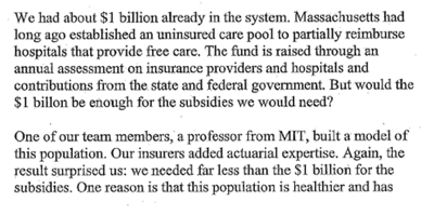 Romney Emails on Massachusetts Health Care Law  WSJ com 3