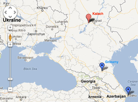 Russia Volgogradskaya oblast Kalach na Donu  Google Maps