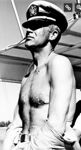The Errant Knave  Cary Grant shirtless and enjoying the sun on the