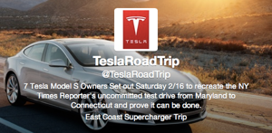 7 Tesla Model S Owners Set Out to Recreate New York Times Reporter