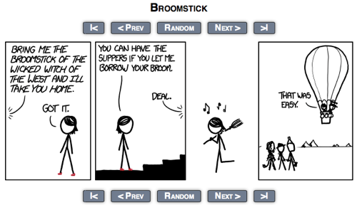 Xkcd Broomstick