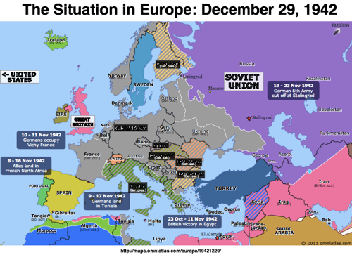 Liveblogging World War II: December 29, 1942