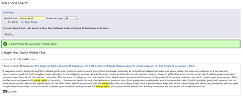 Online Library of Liberty  Search Results 5