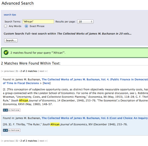 Online Library of Liberty  Search Results 1