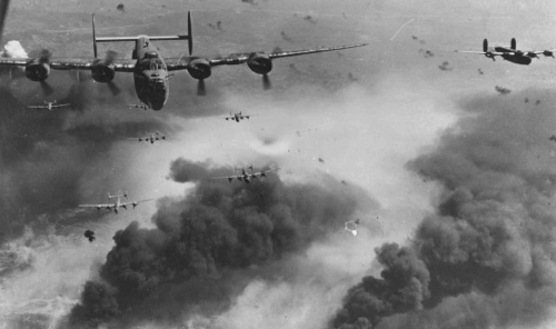 1st August 1943 USAAF long distance low level raid on Ploesti oil fields