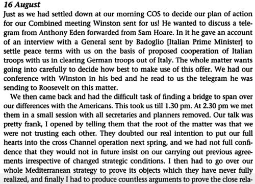 War Diaries 1939 1945 Field Marshal Lord Alanbrooke Google Books