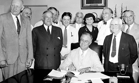 Signing the social security act Google Search