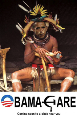 Conservative Activist Forwards Racist Pic Showing Obama As Witch Doctor TPMMuckraker
