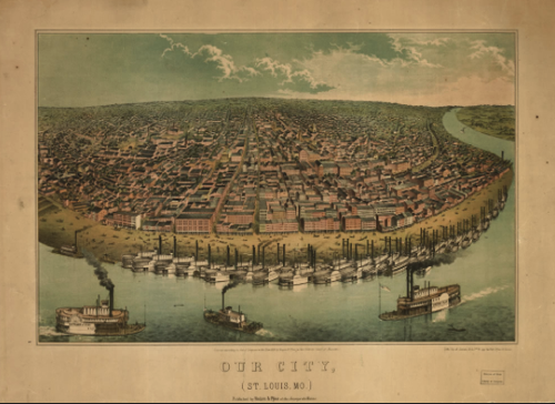 St louis 1849 Google Search