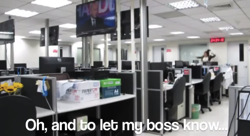 Girl Quits Job By Making Kanye Dance Video At Work YouTube