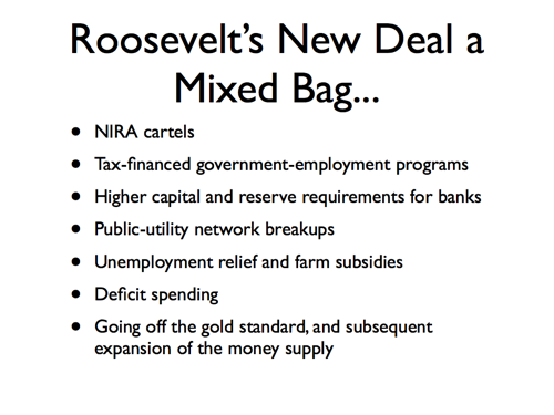 roosevelts new deals essay