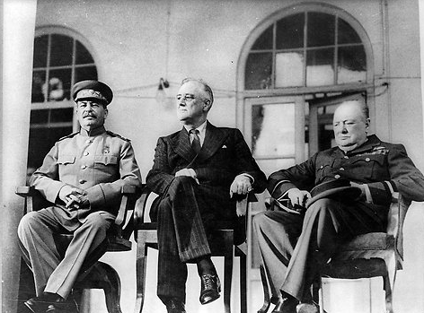 Nov 28 1943 Allied Leaders Meet at Tehran Conference NYTimes com