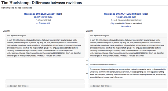 Tim Huelskamp Difference between revisions Wikipedia the free encyclopedia
