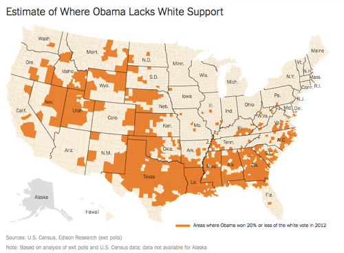 Southern Whites Loyalty to G O P Nearing That of Blacks to Democrats NYTimes com