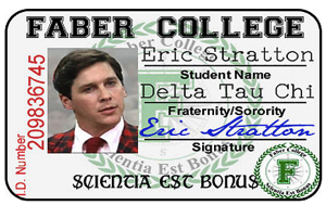 Twilight ID Card Faber College Student IDS Vampire eBay