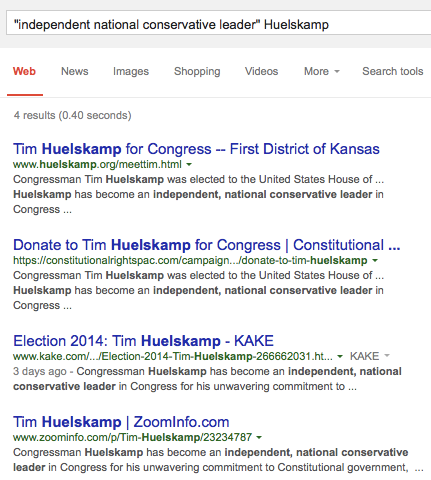 Independent national conservative leader Huelskamp Google Search