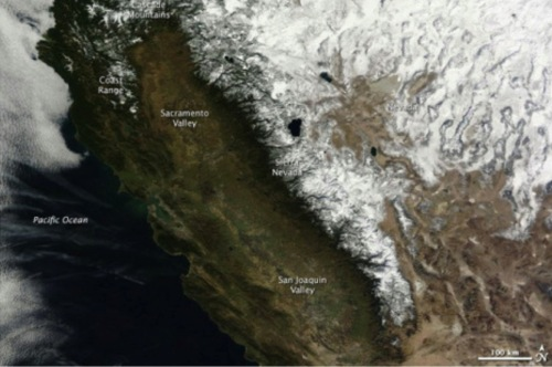 California s drought is kind of staggering when seen from space Grist