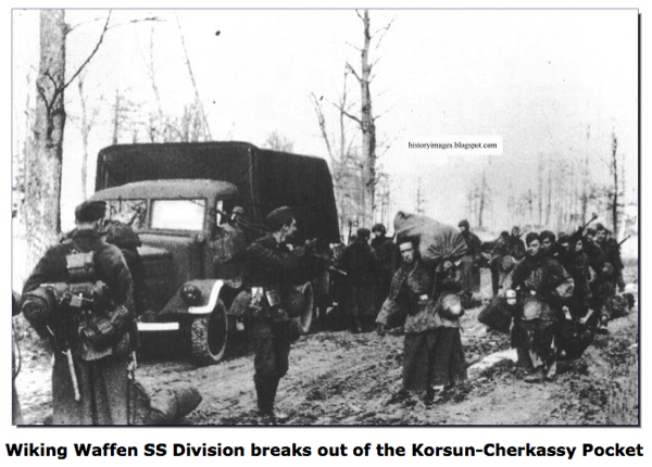 HISTORY IN IMAGES Downfall Slow Decimation Of The German Army Battle Of KORSUN CHERKASSY