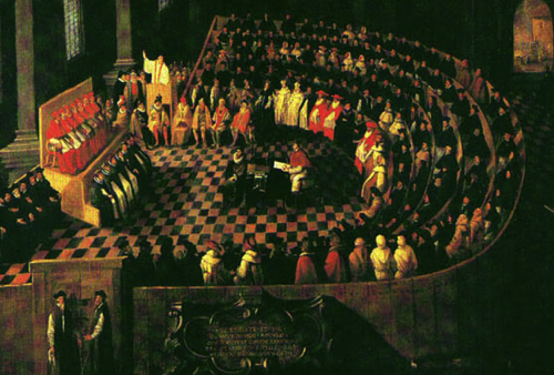 Temptation as defined by the Council of Trent