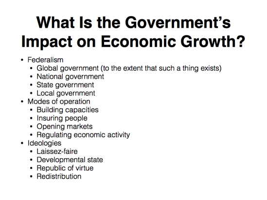 the impact of fiscal policy on economic growth