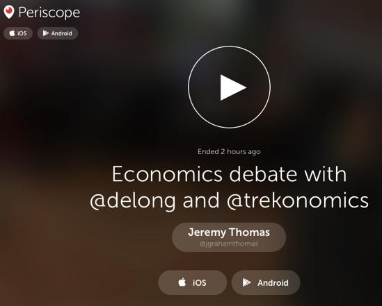 Jeremy Thomas on Periscope
