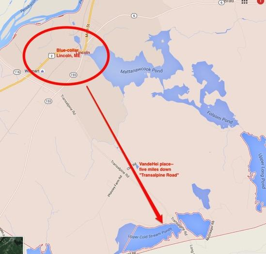 Lincoln Google Maps