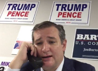 Sad Ted Cruz Phone Banking For Donald Trump Is The Meme Of The Campaign Huffington Post