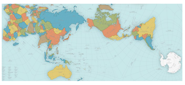 A more accurate world map wins prestigious design award Boing Boing
