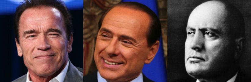 Preview of A Schwarzenegger a Berlusconi or a Mussolini