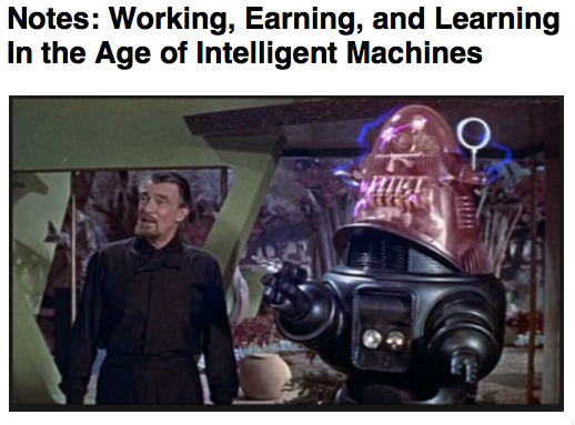 Cursor and Preview of Notes Working Earning and Learning In the Age of Intelligent Machines