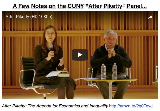 A Few Notes on the CUNY After Piketty Panel