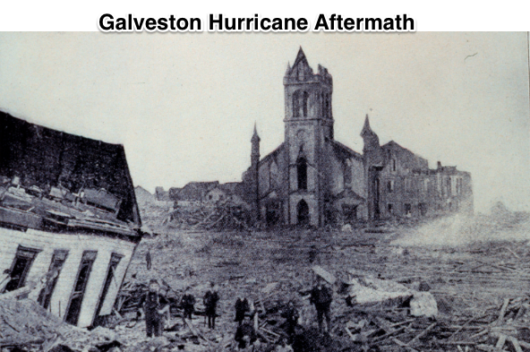 Galveston Hurricane Aftermath