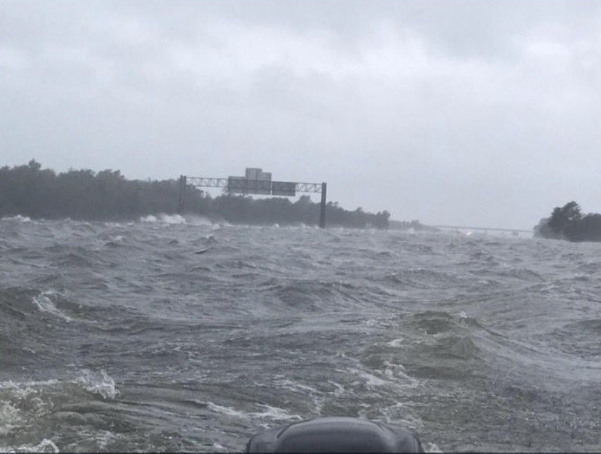 Mikel Jollett on Twitter Holy hell I ve never seen anything like this This is the 10 Freeway at the Jefferson County Line in Texas right now https t co eJ24moz0K1