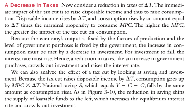 Mankiw A Tax Cut