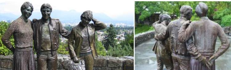 Vancouver Queen Elizabeth Park Statue