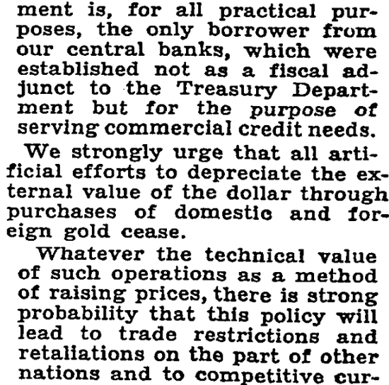 COLUMBIA EXPERTS OPPOSE GOLD PLAN 38 of Faculty in Statement Urge Cessation of Buying to Avert Economic Warfare INFLATION CRISIS FEARED Stabilization Agreement With Leading Nations for Return to Old Standard Proposed View Article