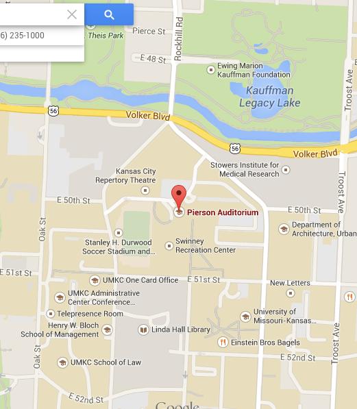 Pierson Auditorium Google Maps